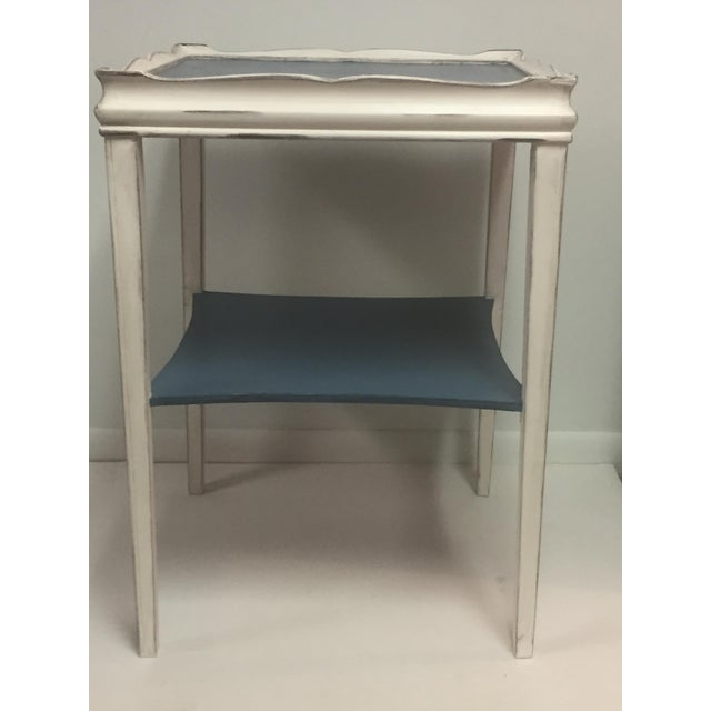 Distressed Painted Side Table - Image 2 of 6