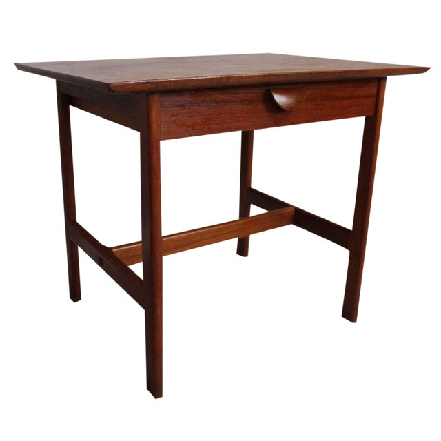 George Tanier Teak Side Table by P. Jeppeson - Image 1 of 9