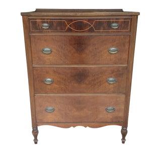 Vintage Highboy Dresser by Marvel Furniture Co.