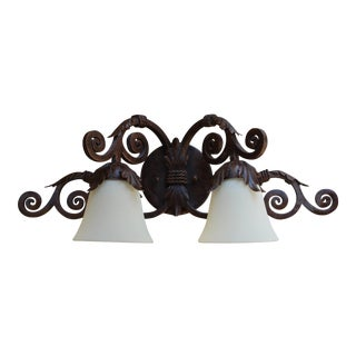 Two-Light Vanity Fixture