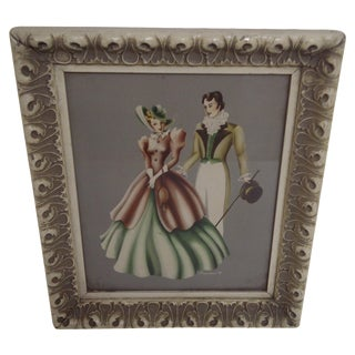 """Formal Ball - Man & Woman"", Original Print"