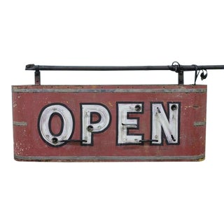 Double Sided Neon Sign OPEN