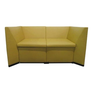 Centro Progetti Leather Sofa for Tecno