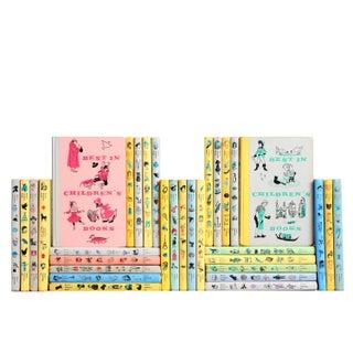 Mid Century Children's Classic Books - Set of 32