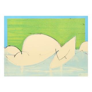 "Dimitri Petrova""Cubist Nude"" Lithograph"