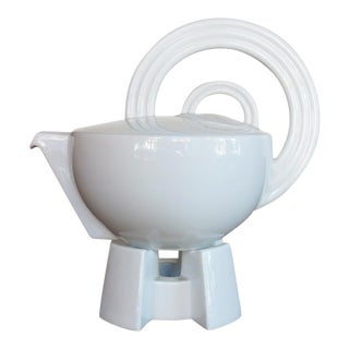 Mario Bellini 'Cupola' Teapot with Stand