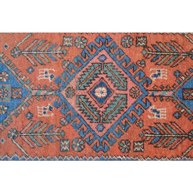 """Antique Persian Heriz Rug - 3' x 5'7"""" - Image 7 of 11"""
