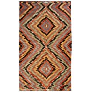 Vintage Mut Kilim | 5'11 x 11'5 Turkish Flatweave