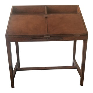 Leather Secretary Desk