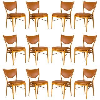 Set of 12 Finn Juhl BO-63 Dining Chairs