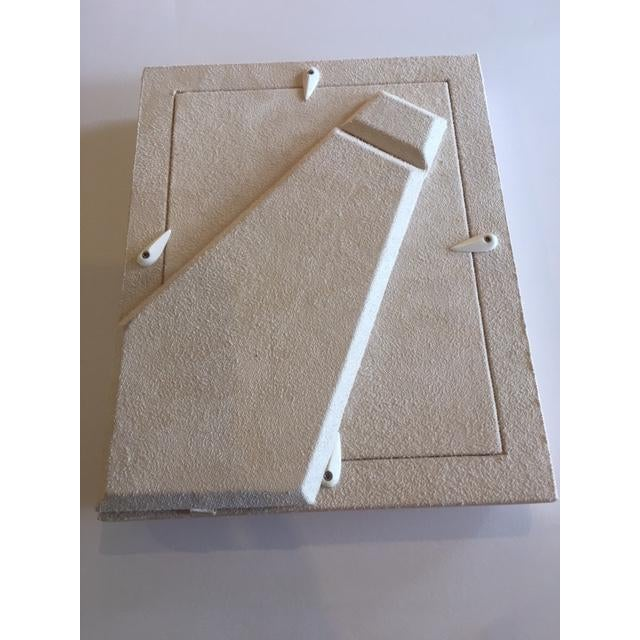 Cream Shagreen Picture Frame - Image 5 of 5