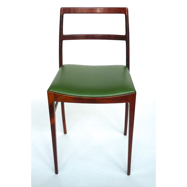 Image of Brazilian Rosewood Stools - A Pair