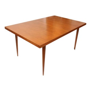 1960s American Paul McCobb Dining Table with Two Leaves