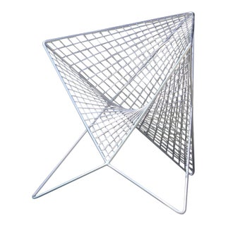 Polished Stainless Steel Parabola Chair