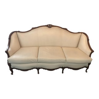 French Cream De La Cream Sofa