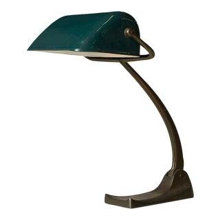 De Stijl style Bankers lamp by Dutch Architect Jacobus J.P. Oud