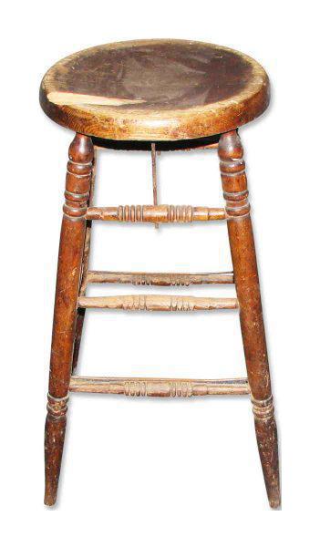 Olde Wooden Stool  sc 1 st  Chairish & Vintage u0026 Used Bar Stools   Chairish islam-shia.org