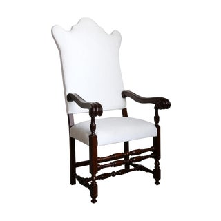 Early 20th Century Baroque Revival Armchair
