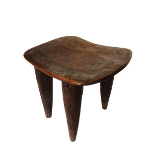 Hand-Carved Senufo Stool