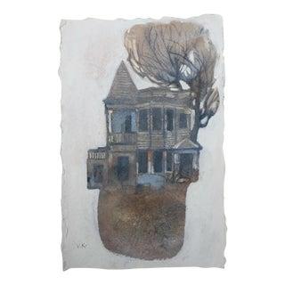 "Steve Klinkel ""Passages"" Original Watercolor Painting"
