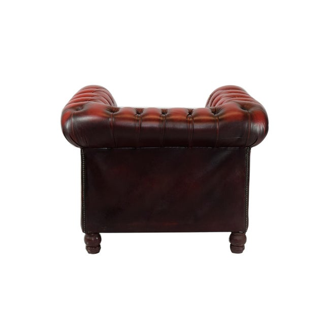1970's Tufted Club Chair - Image 4 of 4