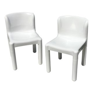 Carlo Bartoli for Beylerian Kartell Chairs - A Pair