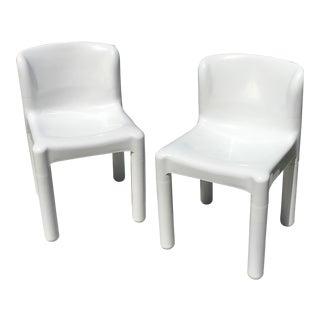 Carlo Bartoli for Beylerian Kartell Chairs - A Pair