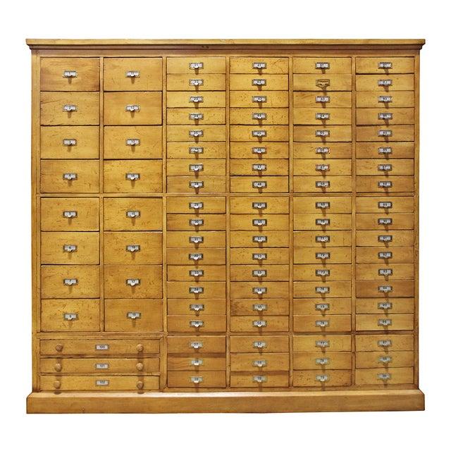 Image of Vintage Pine Multi Drawer Cabinet