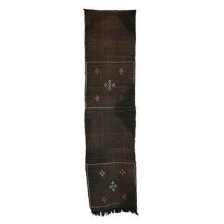 """Vintage Moroccan Cactus Silk Rug - 1'10"""" X 7'3"""""""