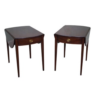 Kittinger Colonial Williamsburg Side Tables - Pair