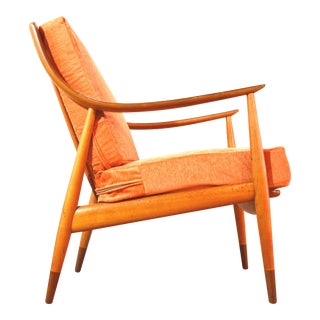 Peter Hvidt Mid-Century Lounge Chair