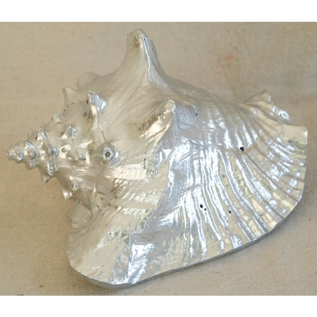 Large Silver Gilt Conch Seashell - Image 7 of 10