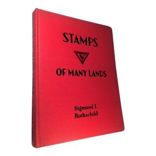 Stamps of Many Lands by Sigmund I. Rothschild