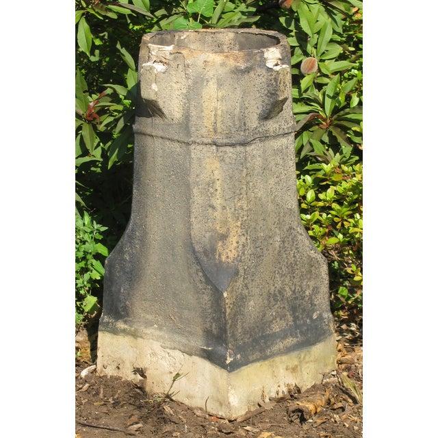 Image of English Glazed Terracotta Chimney Pot