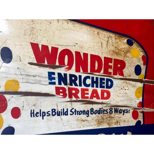 Vintage Original Wonder Bread Sign - Image 6 of 8