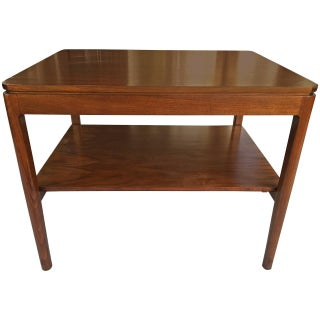 Dunbar Style Mid-Century Two-Tier Side Table