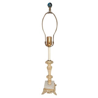 Shabby Chic French Style Metal Lamp