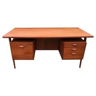 Mid-Century Kai Kristiansen Executive Desk