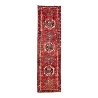 "Apadana - Vintage Persian Rug, 3'1"" x 11'3"""