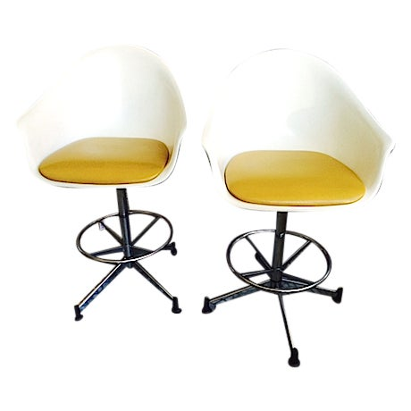 Adjustable Counter/Bar Stools - Image 1 of 5