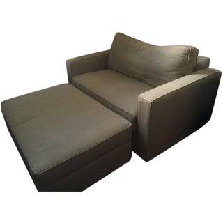Arhaus Filmore Twin Sleeper Sofa & Ottoman