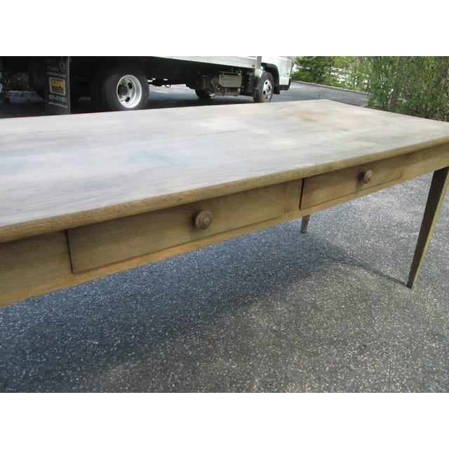 Swedish Farm Table, Former Work Table - Image 5 of 6