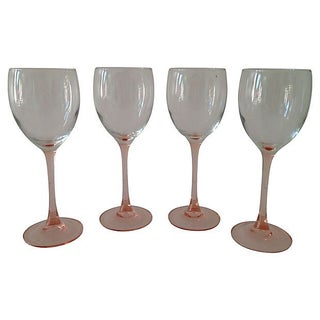 French Crystal Stems - Set of 4