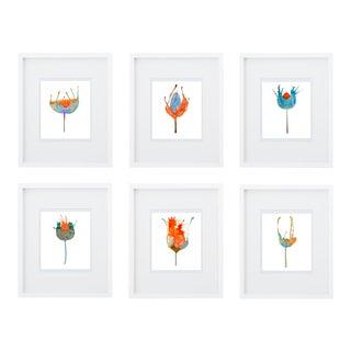 Botanical Giclee Print Grouping - Set of 6 Free Shipping