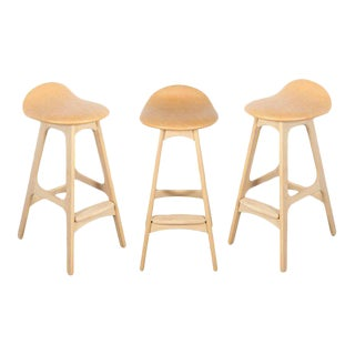 Erik Buch Counter Height Stool, Set of 3