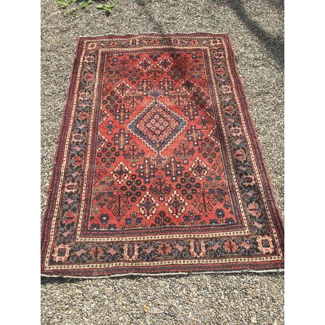 "Gorgeous Persian Vintage Wool Rug - 51"" x 73"" - Image 2 of 5"