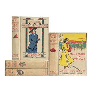 The Little Colonel Series: 1920's Book MIX - Set of 4