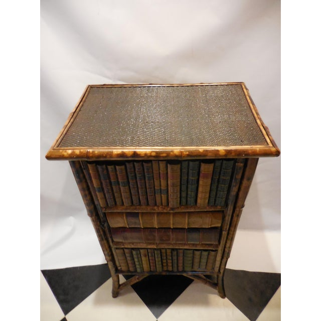 Bamboo Library Cabinet - Image 3 of 8