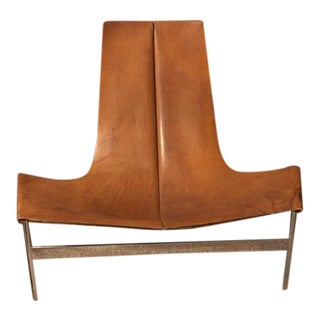 William Katavolos Leather Sling Lounge Chair