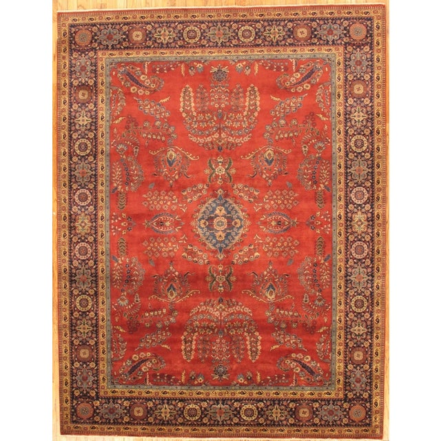 "Pasargad Sarouk Collection Rug - 8'1"" X 5'11"" - Image 2 of 3"